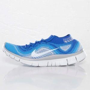 NIKE • free 5.0 men's flyknit sneaker 615805-414